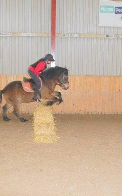 Straw jump